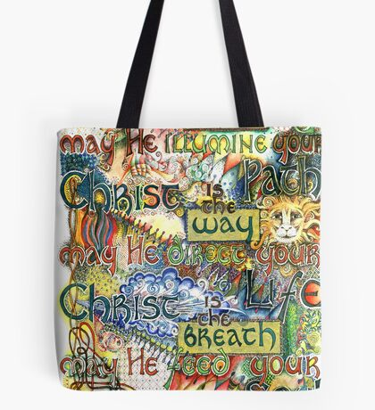 Christ is the Light Tote Bag