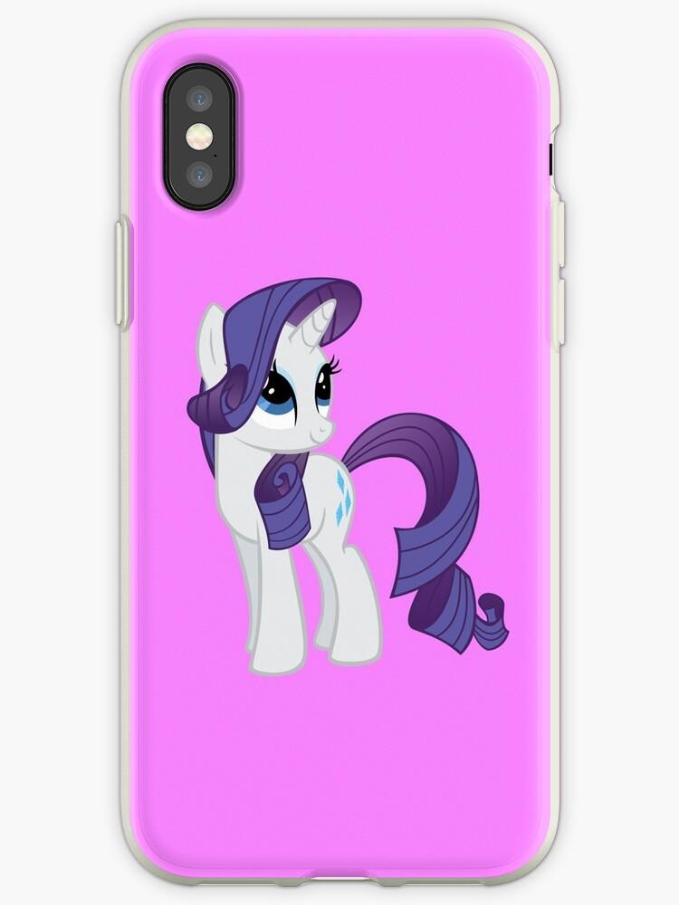 official photos e4e0e ff985 'My Little Pony Rarity' iPhone Case by Grace-Moxley