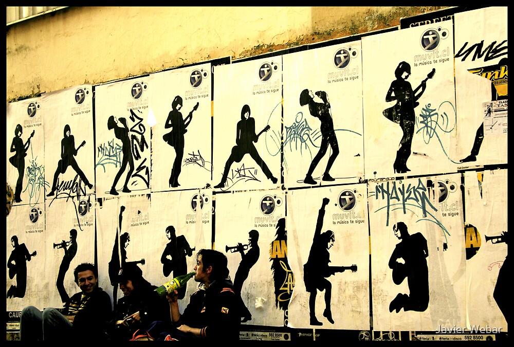 Wall Concert by Javier Webar