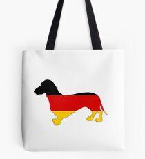 German Flag - Dachshund Tote Bag