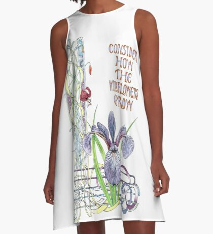 Consider the Wild Flowers A-Line Dress