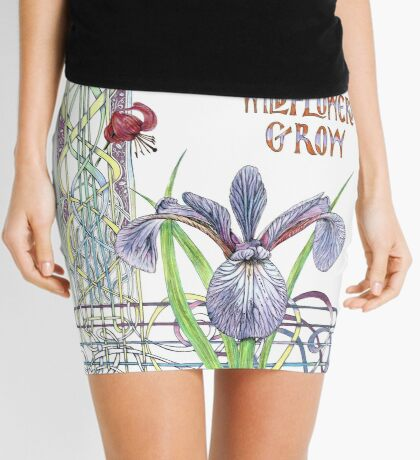Consider the Wild Flowers Mini Skirt