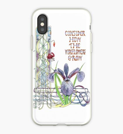 Consider the Wild Flowers iPhone Case