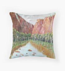 The Gorge Throw Pillow
