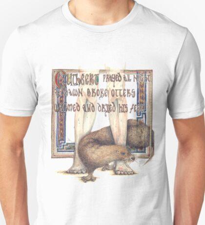 St. Cuthbert and the Otter T-Shirt