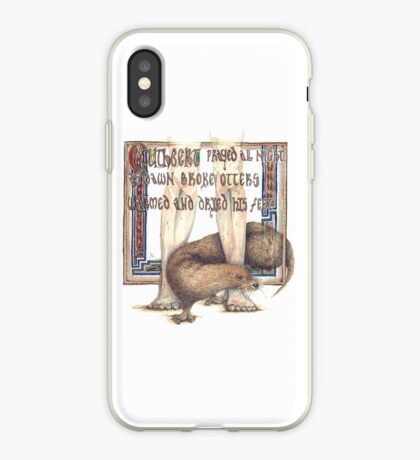 St. Cuthbert and the Otter iPhone Case