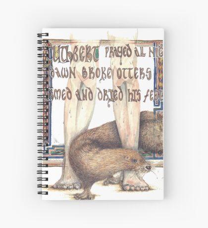 St. Cuthbert and the Otter Spiral Notebook