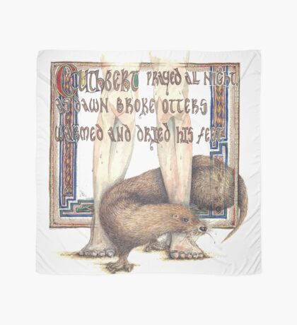 St. Cuthbert and the Otter Scarf