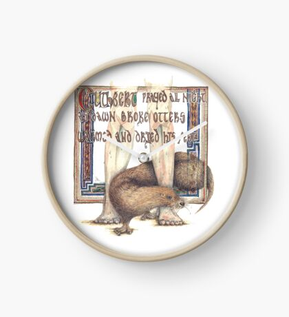 St. Cuthbert and the Otter Clock