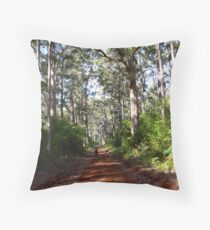 A walk among the giants Throw Pillow