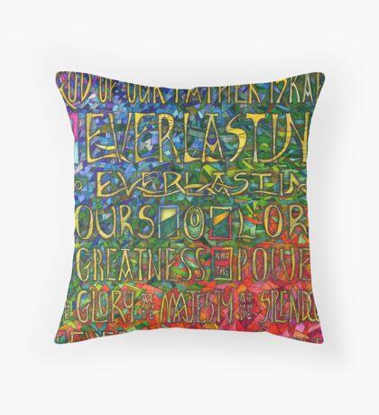 David's Praise Throw Pillow