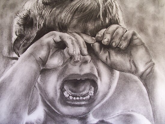 Crying child  by Emily...