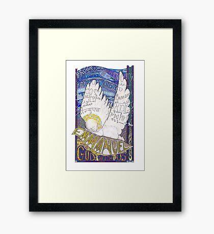 Emmanuel Framed Print