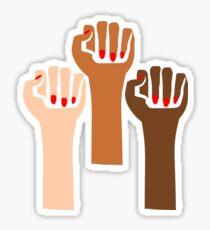 Feminism Fists Sticker
