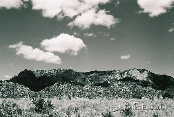 Sandia Mountains by Jocelyn  Emswiler