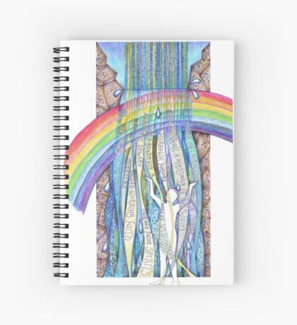 Gifts of the Spirit Spiral Notebook