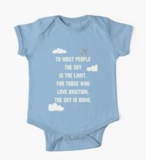The Sky is Home One Piece - Short Sleeve