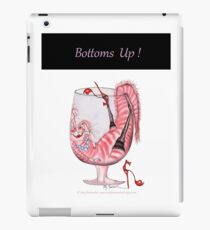Tony Fernandes's 'bottoms up' iPad Case/Skin