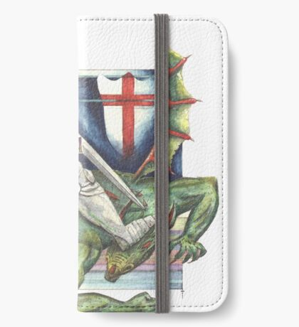 St. George and the Dragon iPhone Wallet