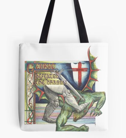 St. George and the Dragon Tote Bag