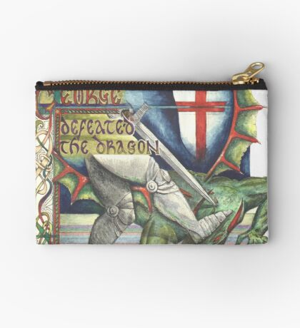 St. George and the Dragon Studio Pouch