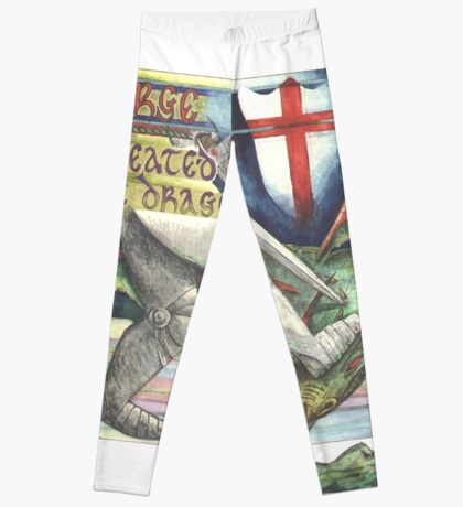 St. George and the Dragon Leggings
