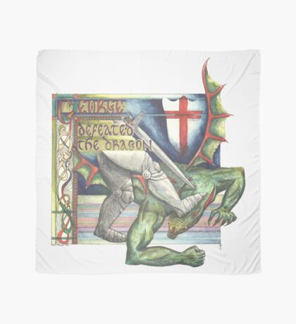 St. George and the Dragon Scarf