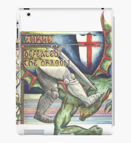 St. George and the Dragon iPad Case/Skin