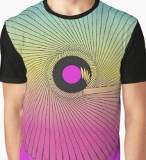 Psychedelic wheel Graphic T-Shirt