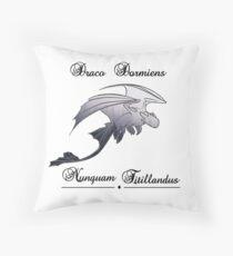 Draco dormiens nunquam titillandus - Toothless Throw Pillow