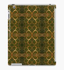 vintage retro seamless pattern iPad Case/Skin