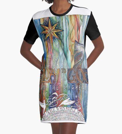 Glory Graphic T-Shirt Dress