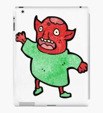 little demon cartoon iPad Case/Skin