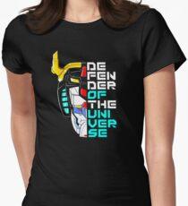 Verteidiger des Universums Tailliertes T-Shirt für Frauen