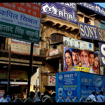 Consume! Delhi Signage.. by mren