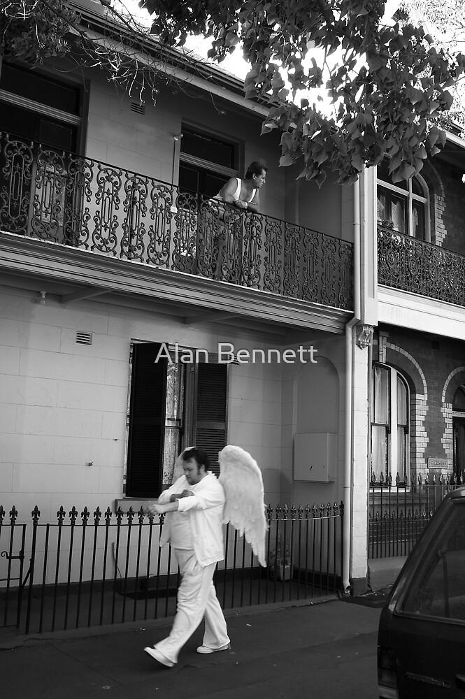 Angel Walks On By by Alan Bennett