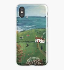 Autumn by the Sea iPhone Case/Skin