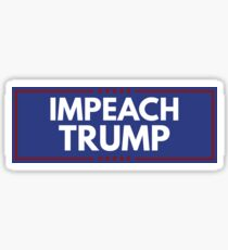 Impeach Trump Sticker Sticker
