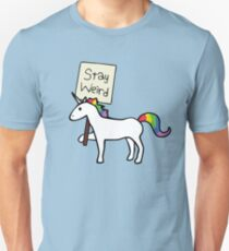 Stay Weird, Unicorn Unisex T-Shirt
