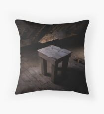 Little Table at Andersons Mill Throw Pillow