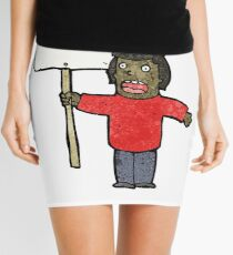 cartoon political protester Mini Skirt
