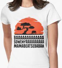 BAAAAAAAAAAAAA SOWENYAAAAAAAAAA MAMABEATSEBABAH T Shirt Women's Fitted T-Shirt