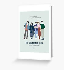 The Breakfast Club Greeting Card