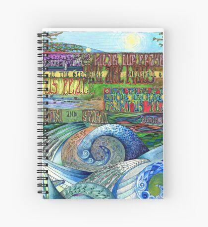 Graceful Trinity Spiral Notebook