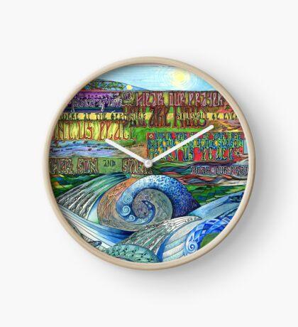 Graceful Trinity Clock