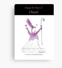 Tony Fernandes's Chianti Wine Canvas Print