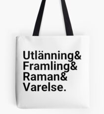 Ender's Game, Hierarchy of Foreignness, Black Tote Bag