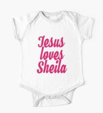 Jesus loves Sheila Kids Clothes