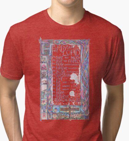 Help Me Dear Lord Tri-blend T-Shirt