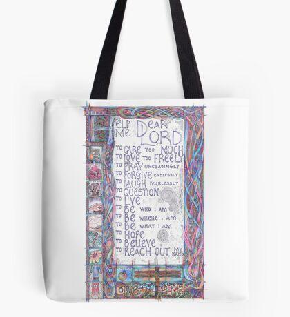 Help Me Dear Lord Tote Bag